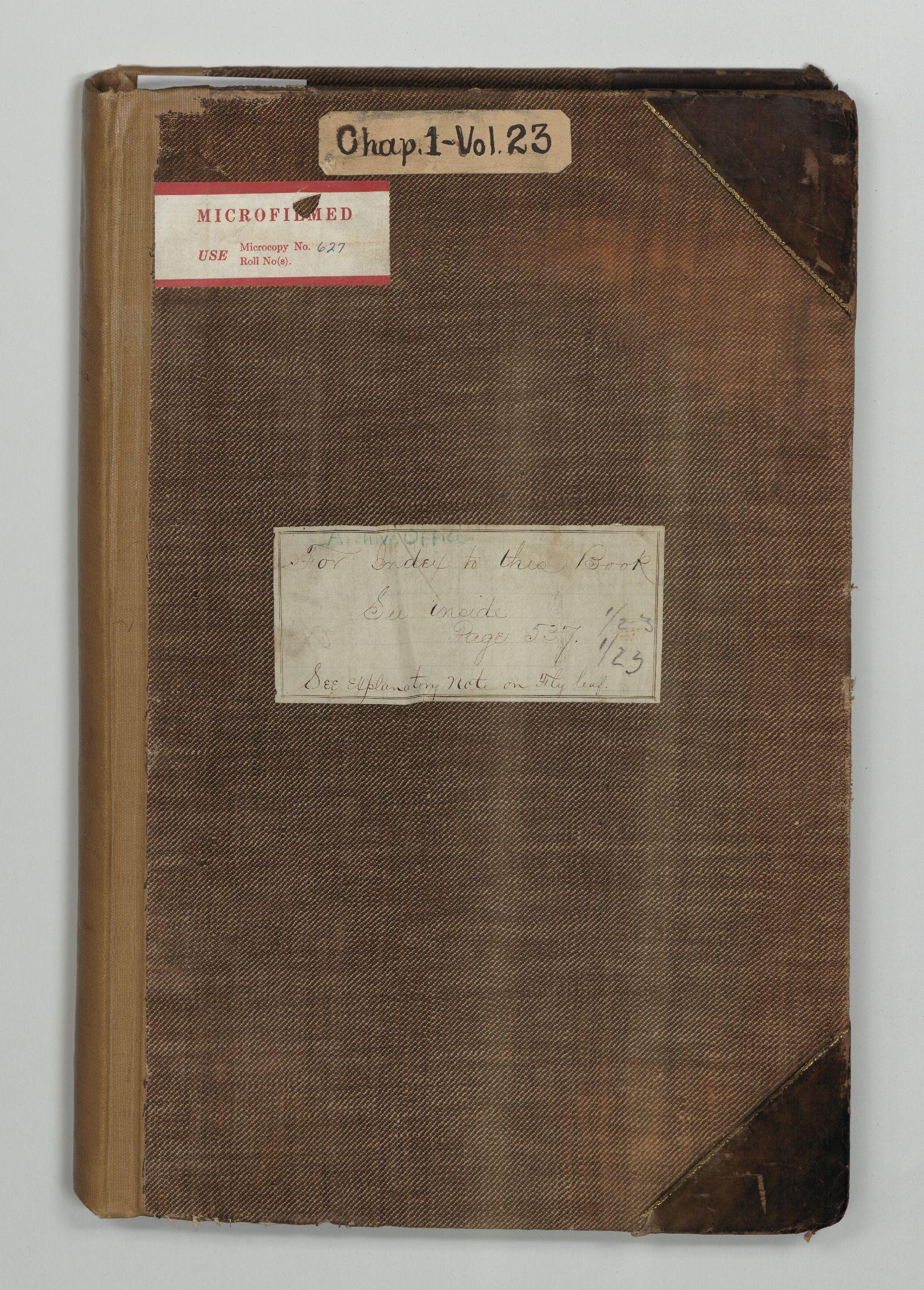 A&IGO - Telegrams Sent, January-April 1865