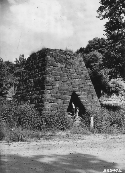 Photograph of Vesuvius Furnace Stack