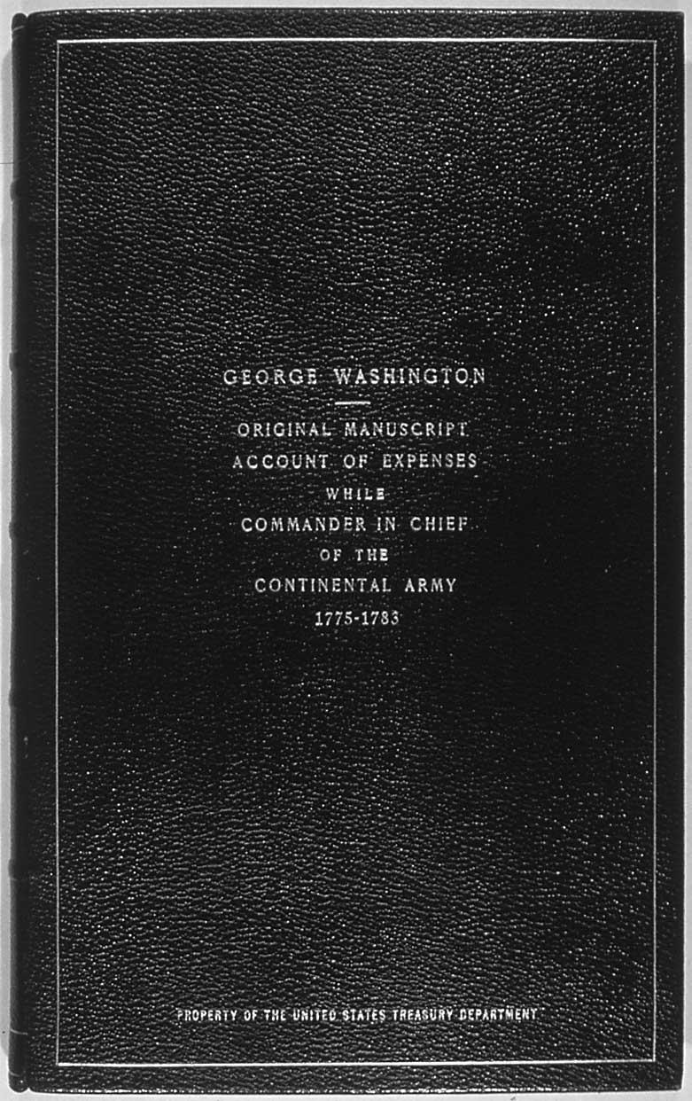 George Washington's Revolutionary War Account Book