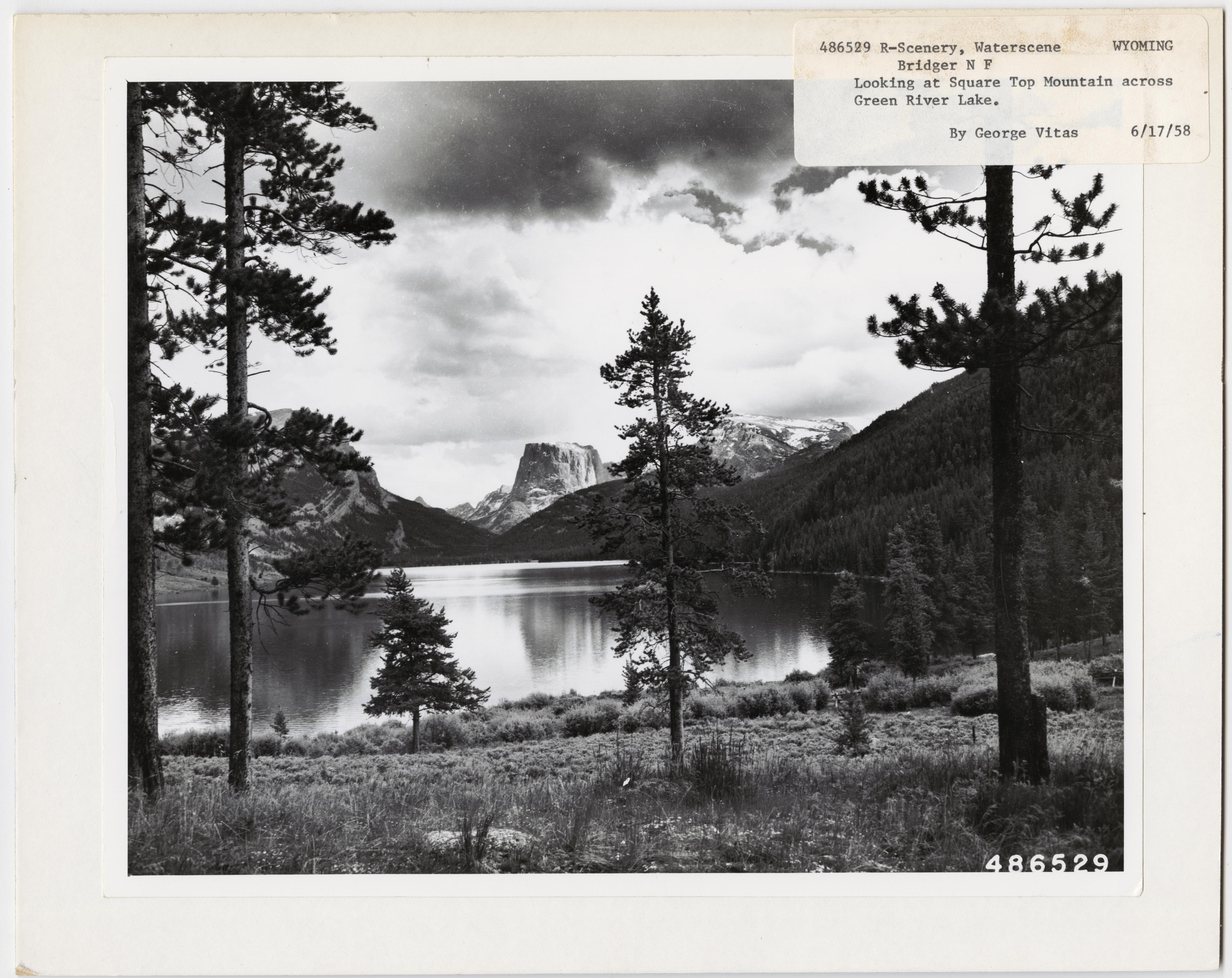Lake Scenes - Wyoming