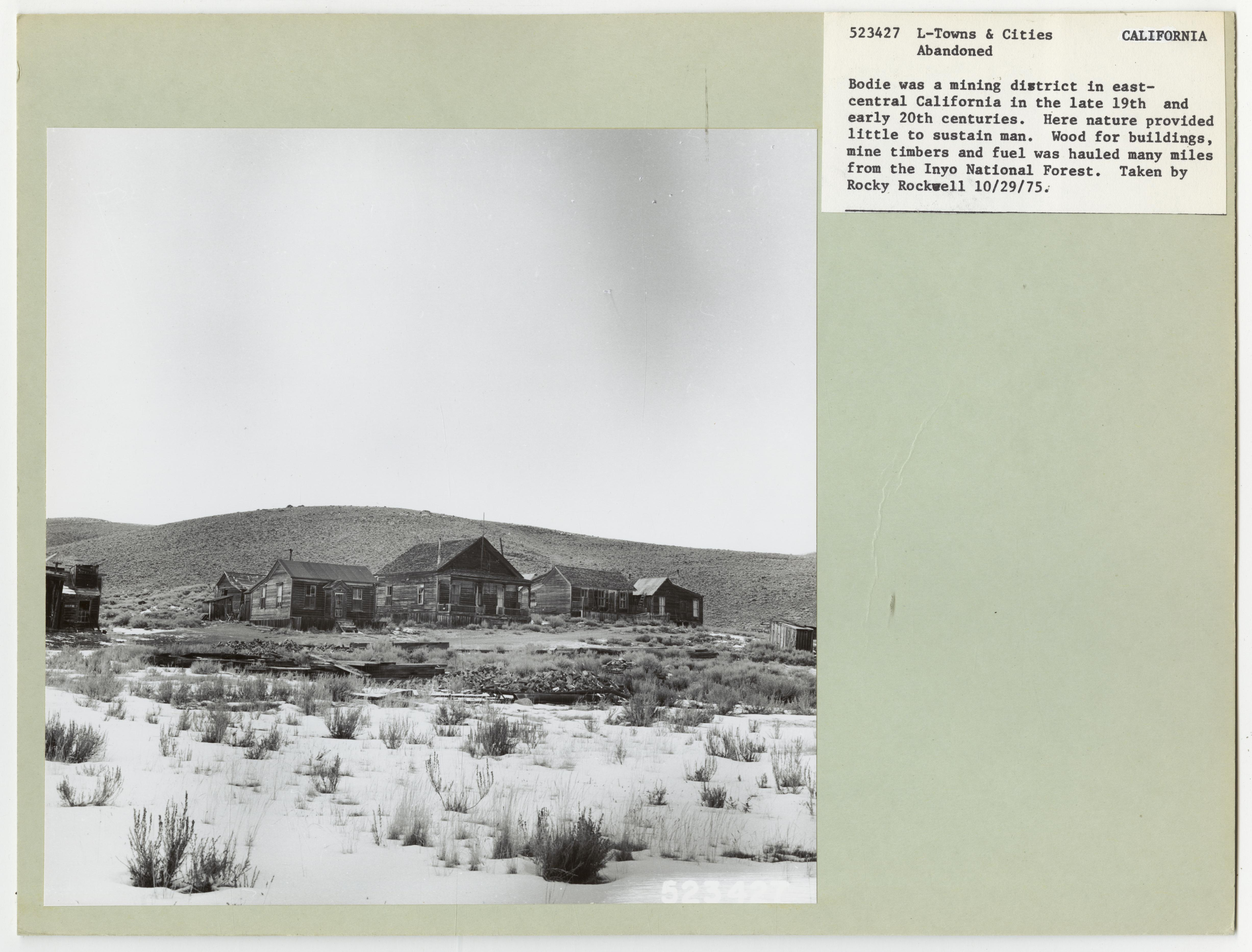 Towns and Cities: Abandoned - Nevada