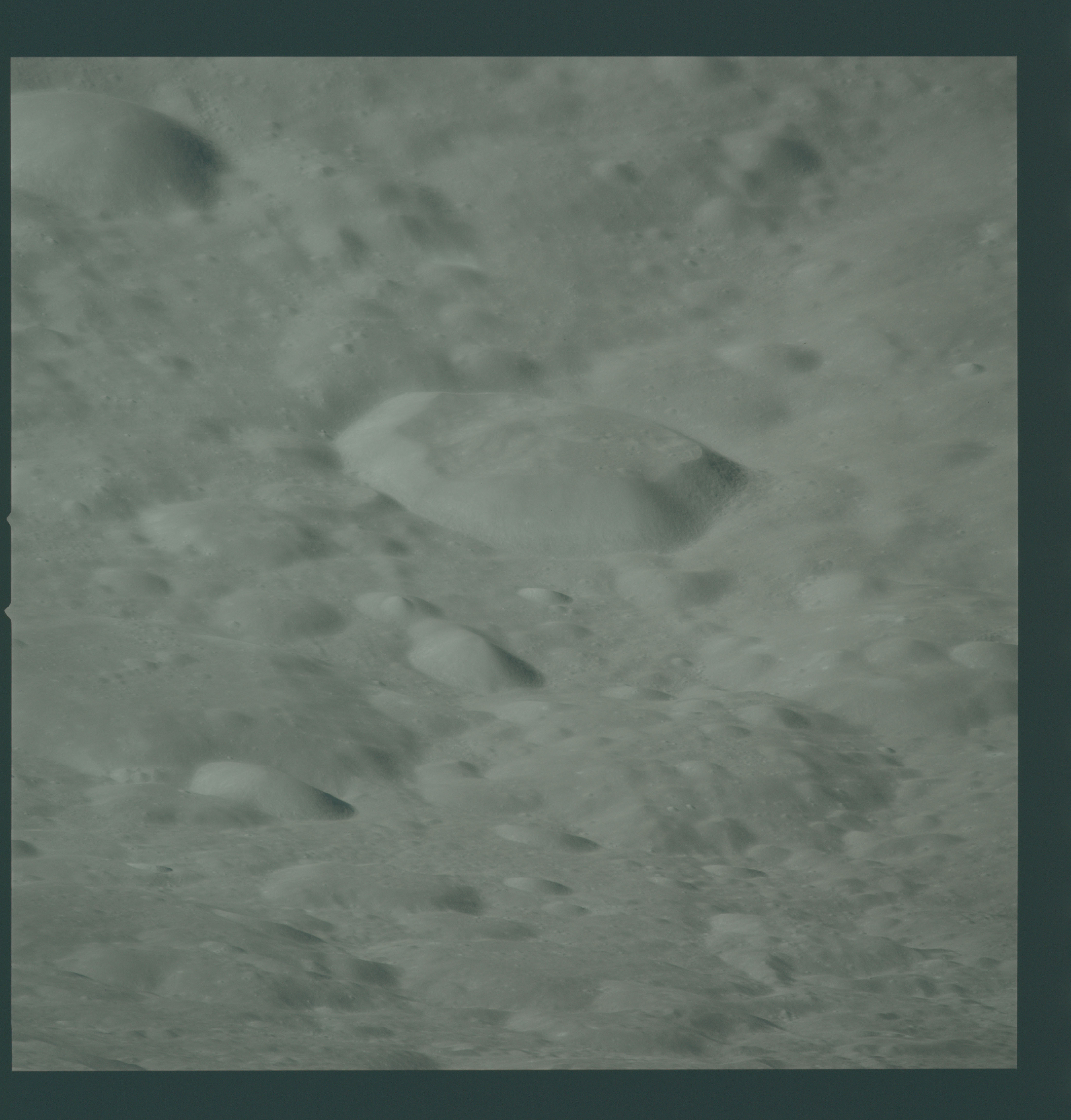 AS16-122-19520 - Apollo 16 - Apollo 16 Mission image - View of the lunar surface north of the of the Ostwald Crater.