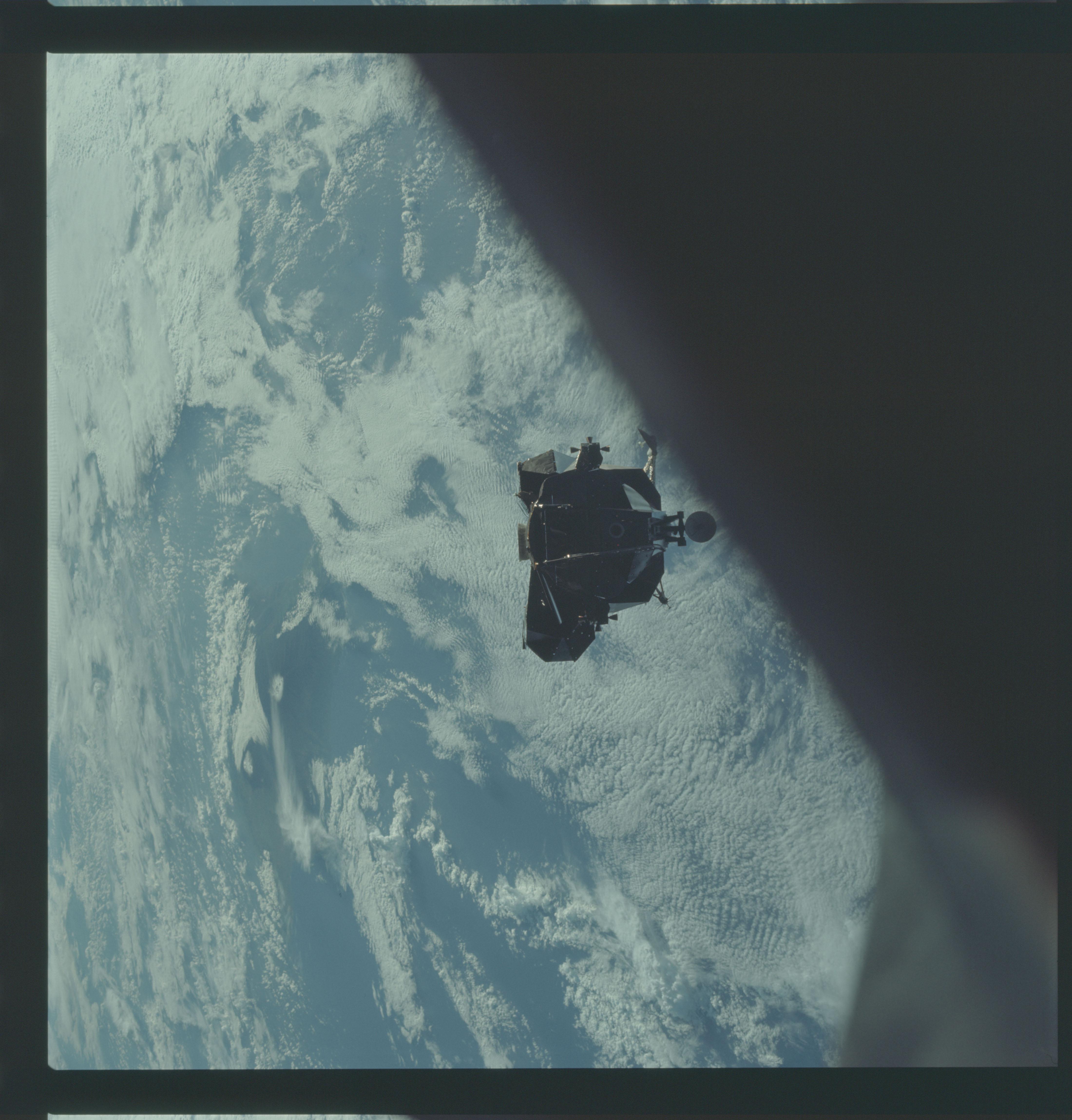 AS09-21-3233 - Apollo 9 - Apollo 9 Mission image - Lunar Module