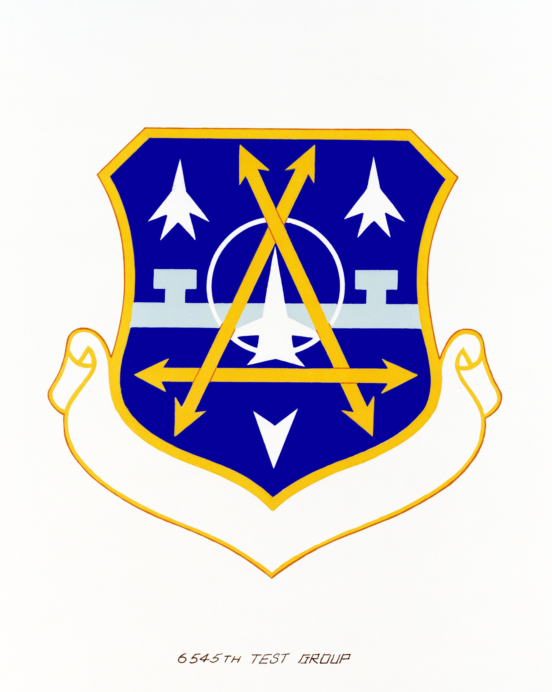 Approved insignia for: 2545th Test Group