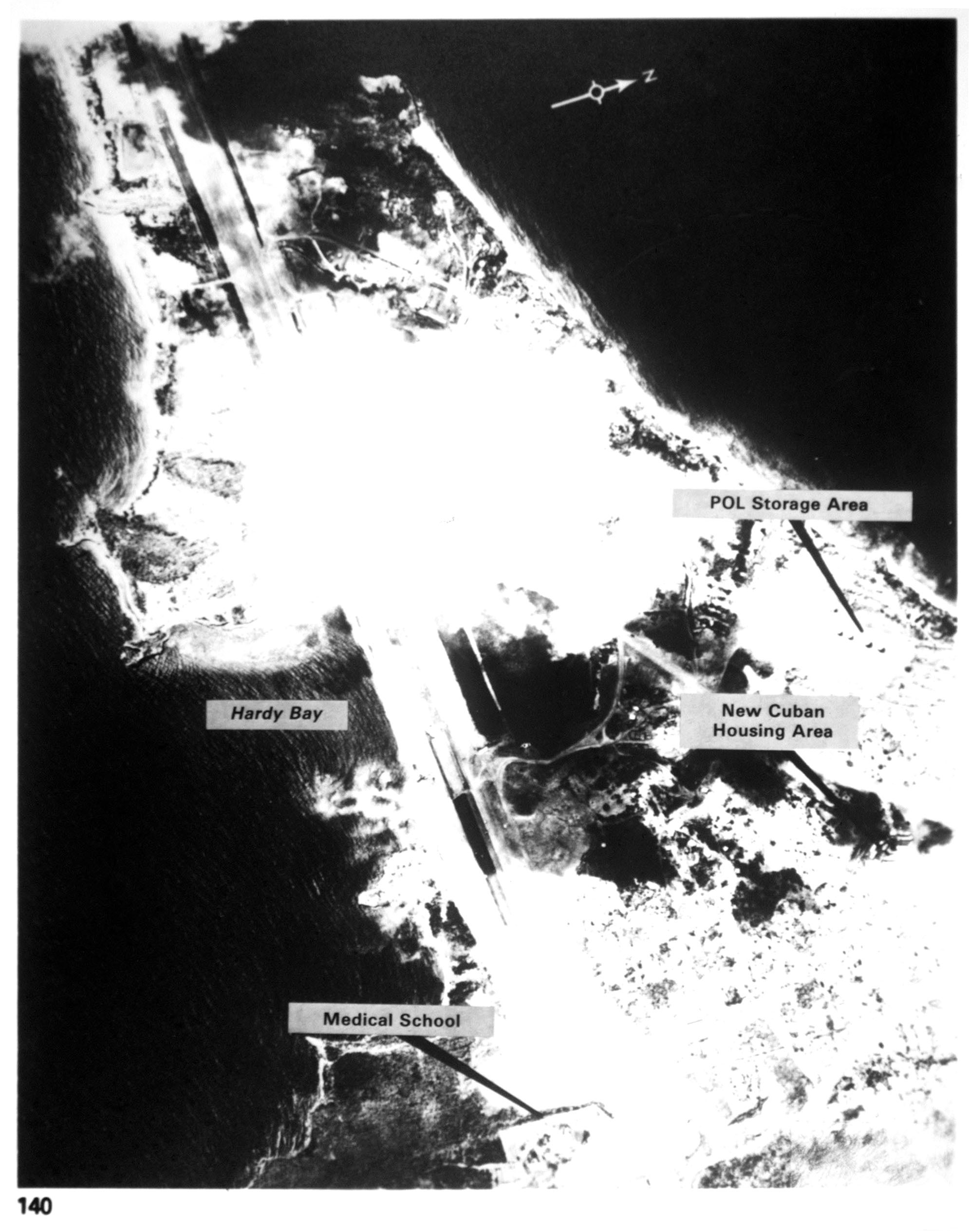 Point Salines Airfield, Grenada. Courtesy of Soviet Military Power, 1984. PHOTO No. 140, page 129