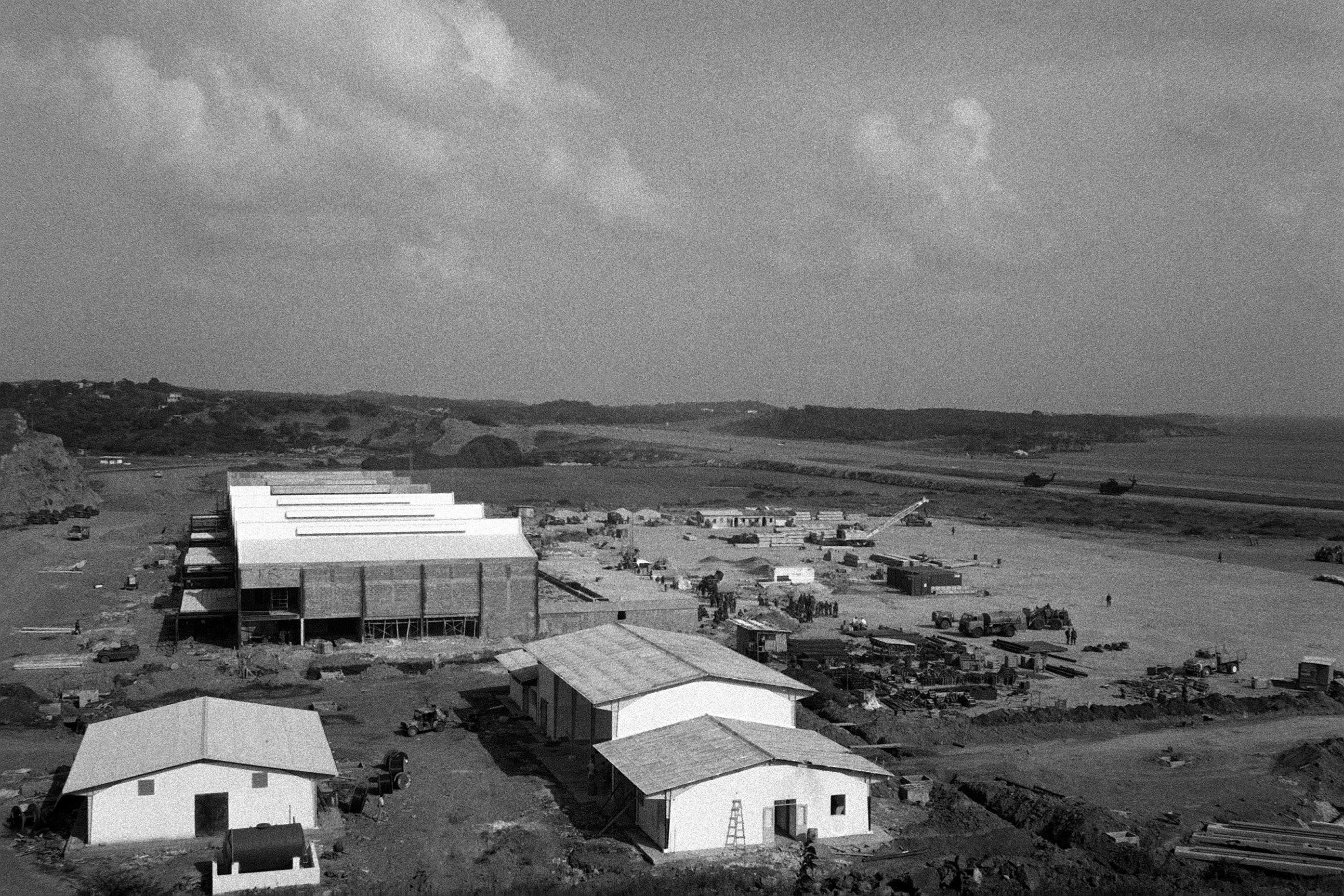 Point Salines Airfield during the multiservice, multinational Operation URGENT FURY