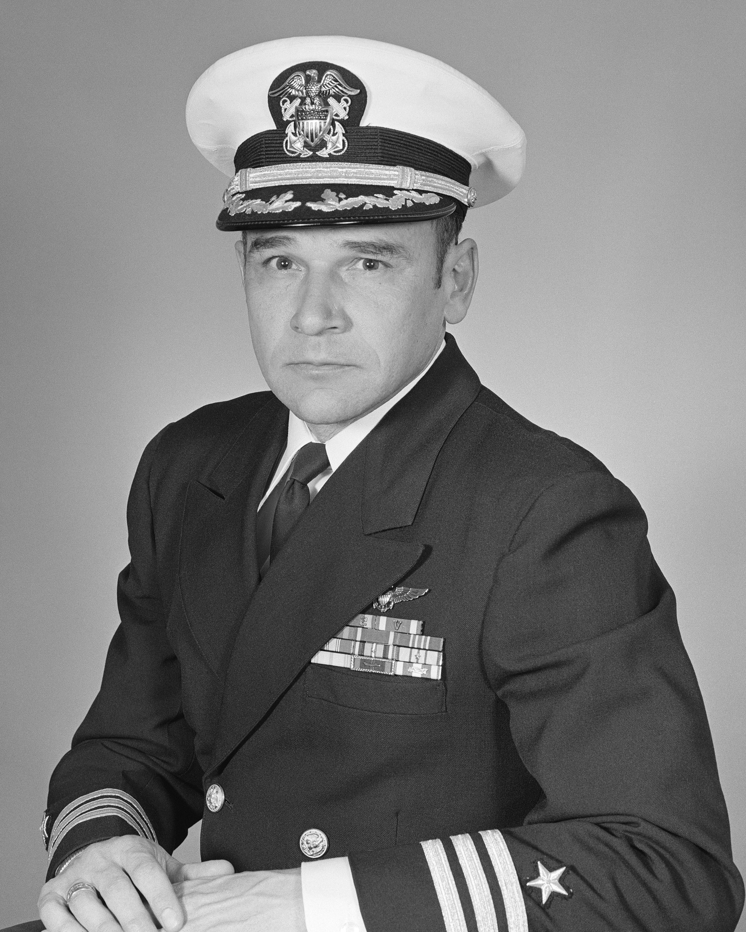Commander Gerald P. Diley, USNR (covered)