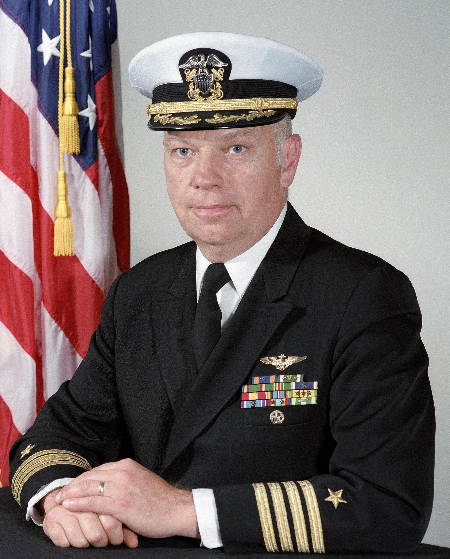 Captain (CAPT) Richard J. Toft, USN (covered)