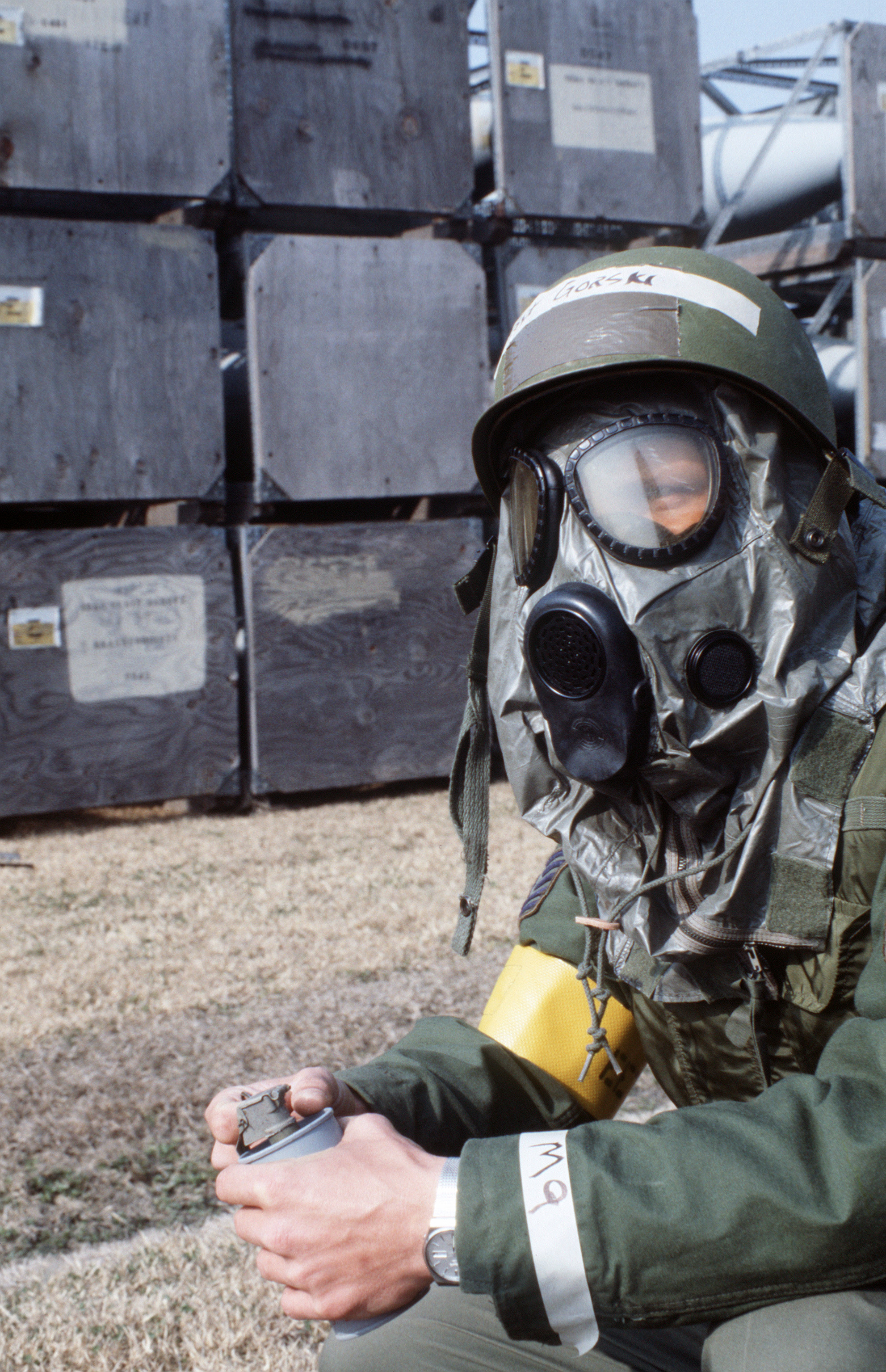 a look at the new face of warfare chemical and biological warfare What you should know in deciding whether to buy escape hoods, gas masks, or other respirators for preparedness at home and work some employers and consumers are considering purchasing escape hoods or other respirators to protect themselves against potential terrorist threats, including biological and chemical substances.