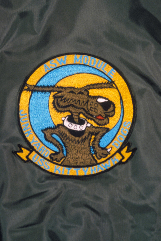Insignia for: USS KITTY HAWK Anti-Submarine Warfare Module