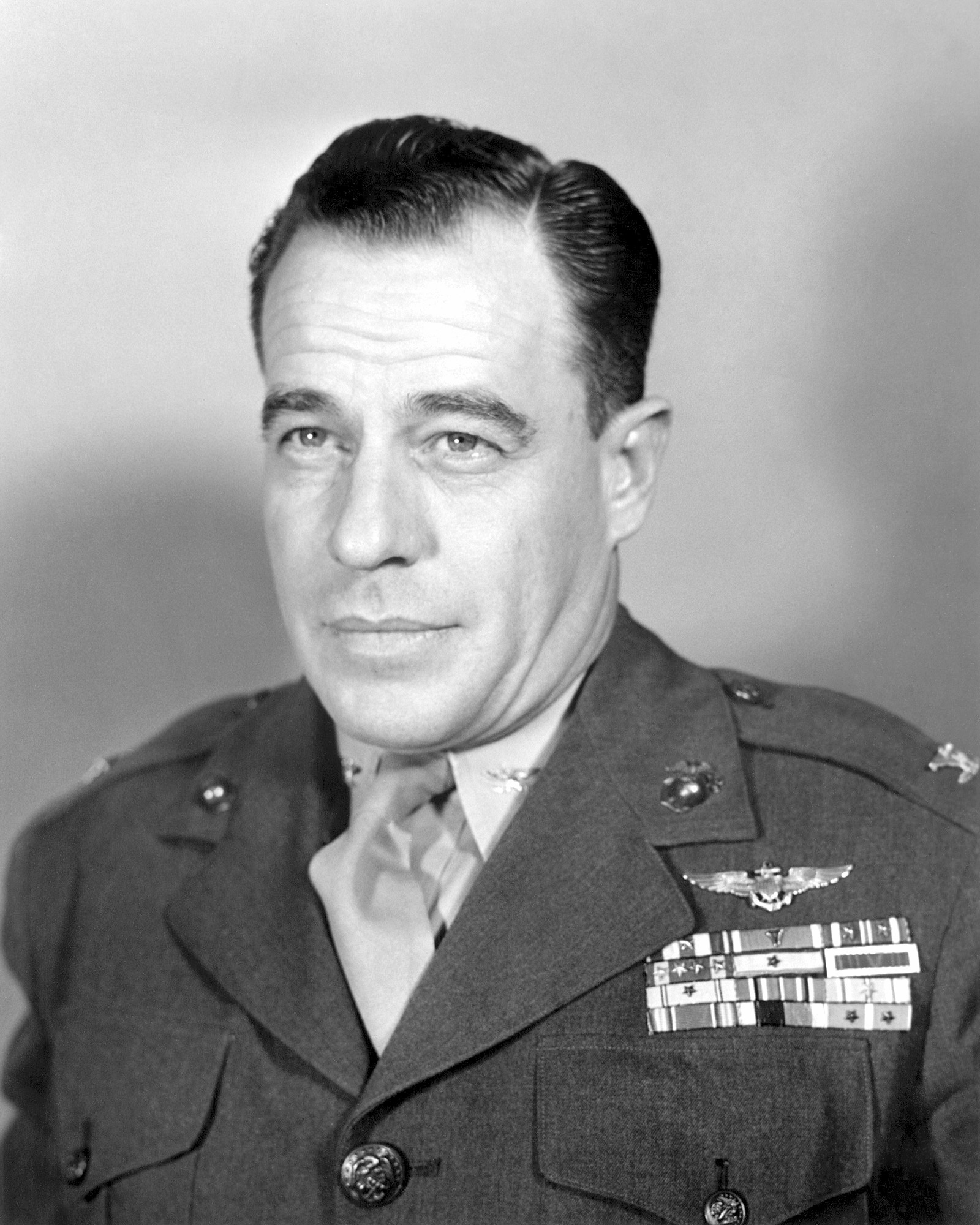 United States Marine Corps Colonel (COL) Donald K. Yost. Official Portrait