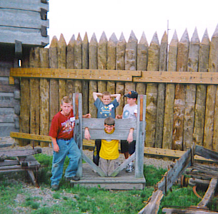 Ohio River Scenic Byway - Children at the Stocks